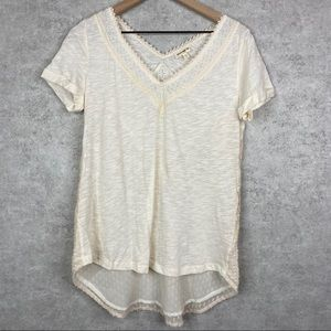Meadow Rue Anthropologie Lace Blouse